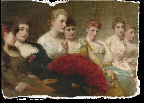 vintage women art