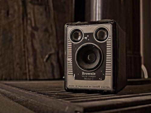 vintage camera kodak