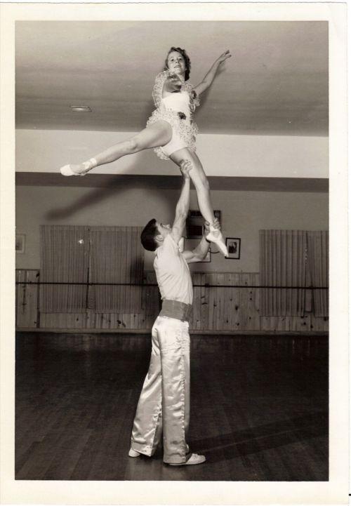vintage acrobatics dance