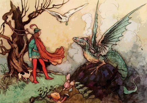 fairy tale vintage old