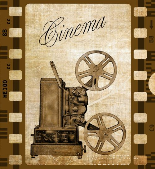 vintage camera cinema
