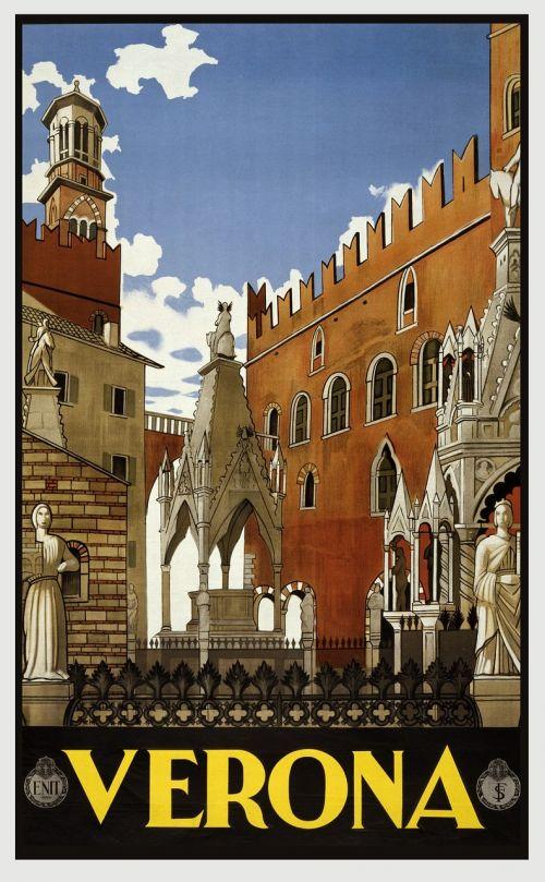 vintage travel travel poster