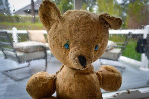 vintage stuffed bear
