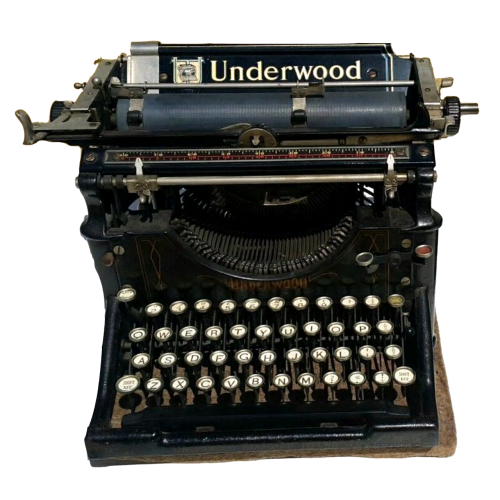 vintage typewriter underwood