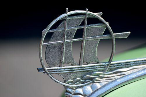 vintage hood ornament antique