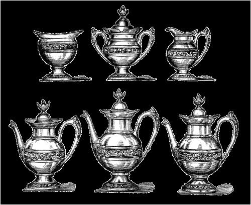 vintage teapot coffeepot