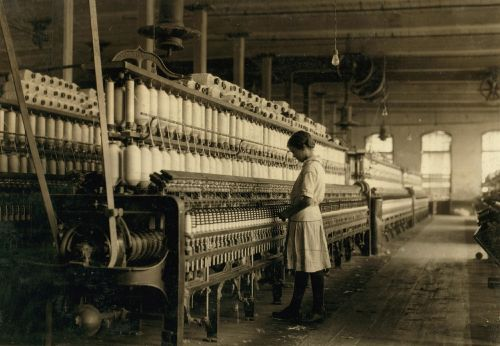 vintage child labor textile