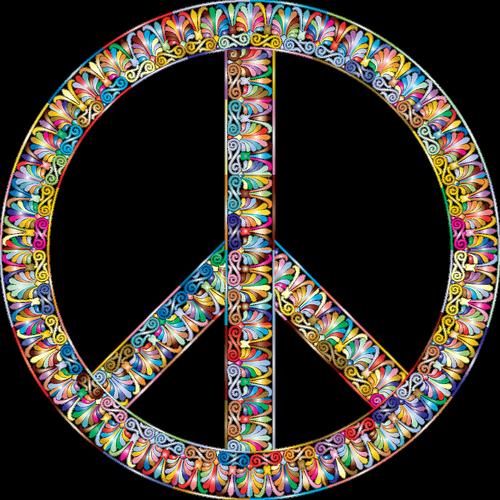 vintage  greek  peace sign