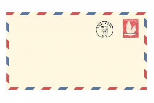 Vintage Airmail Envelope