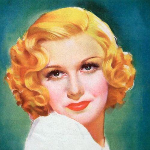Vintage Beautiful Blonde Actress