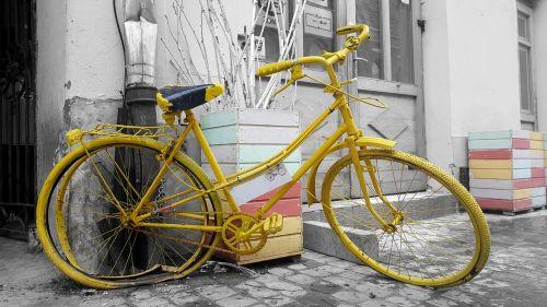 vintage bike bike old