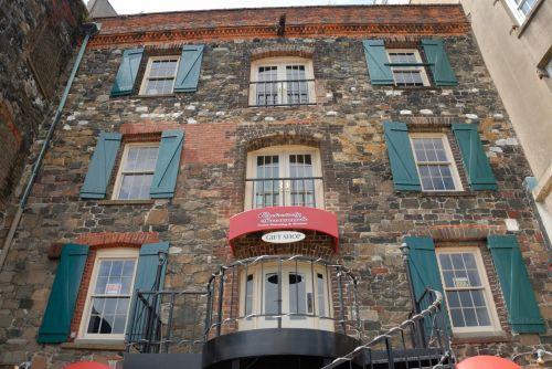 Vintage Building Of Savannah