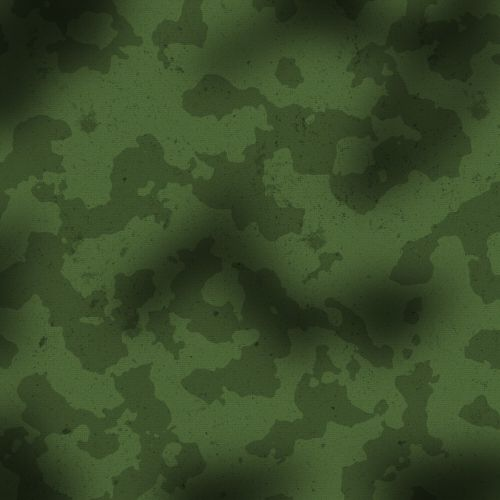 Vintage Camouflage Military Swatch
