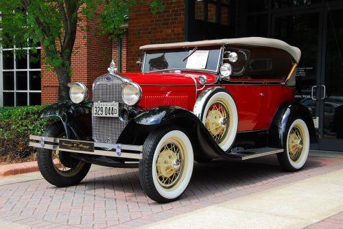 vintage car classic automobile style
