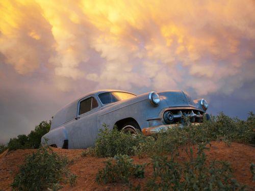 vintage car antique vehicle