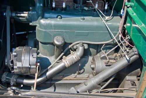 vintage, atkurta, retro, automobilis, variklis, remontas, mechanikas, Rodyti, variklis, hobis, kolektorius, senovinių automobilių variklis