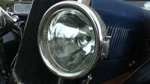 Vintage Car Headlamp