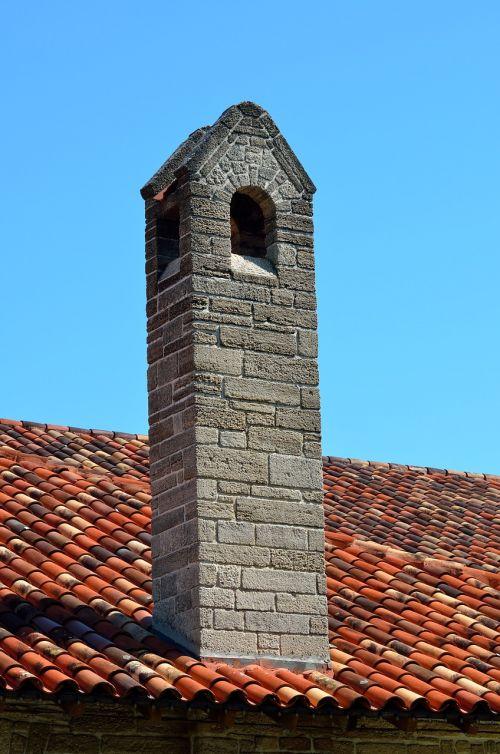 vintage chimney old structure