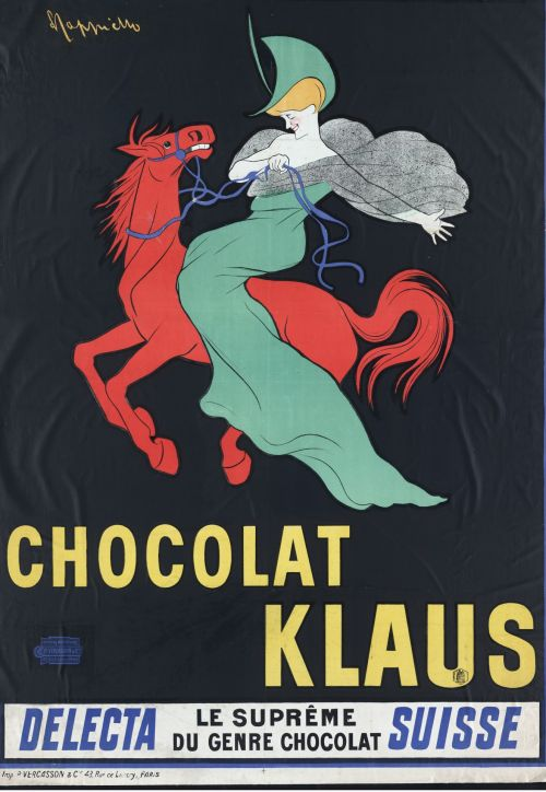 Vintage Chocolate Poster Advert