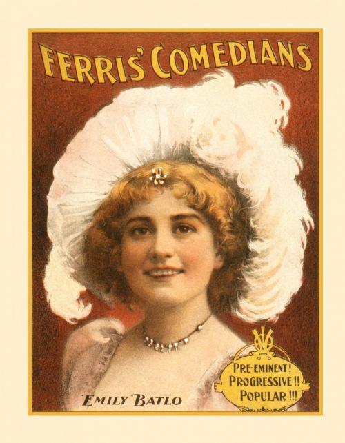 Vintage Comedian Poster