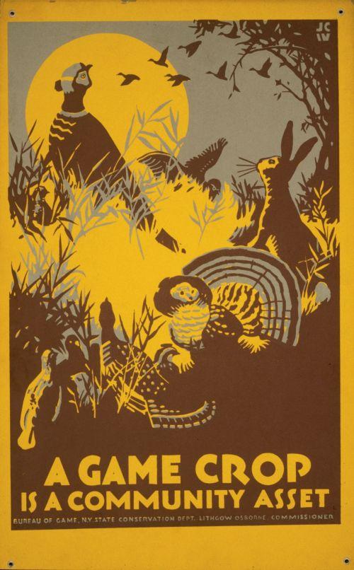 Vintage Conservation Poster