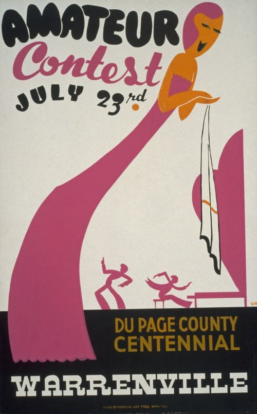 Vintage Contest Poster