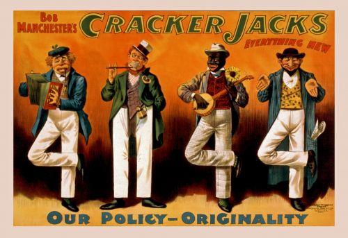 Vintage Cracker Jacks Poster