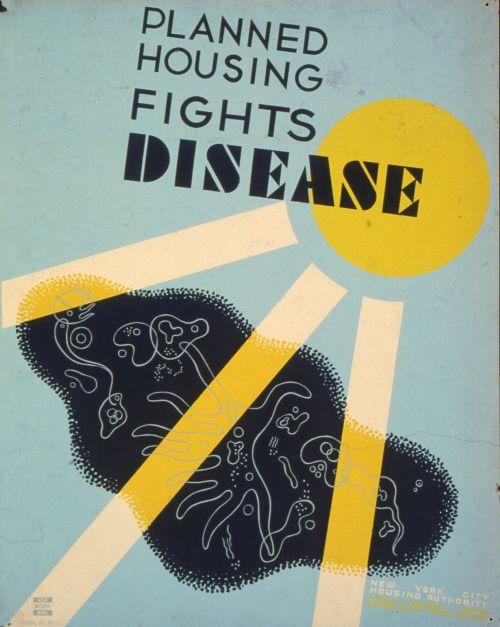 Vintage Disease Poster