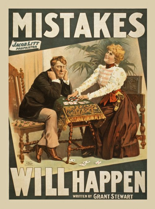 Vintage Drama Poster