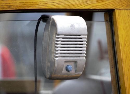 Vintage Drive-In Movie Speaker