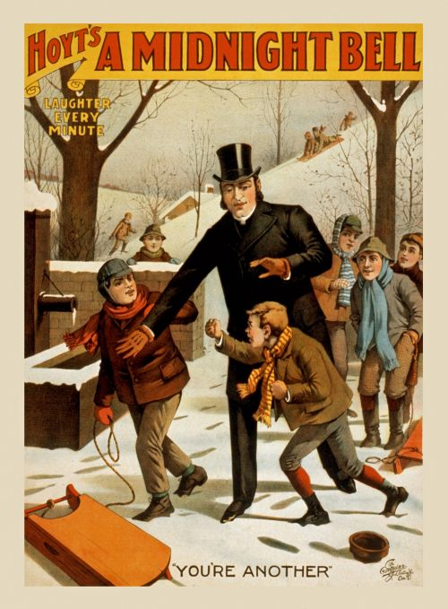 Vintage Entertainment Poster