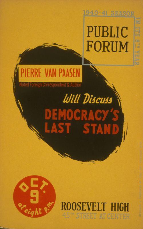 Vintage Forum Poster