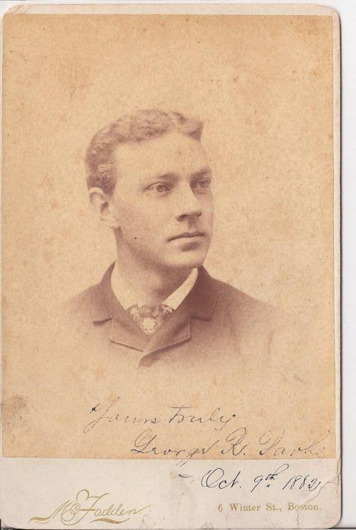 Vintage George R. Parks 1882