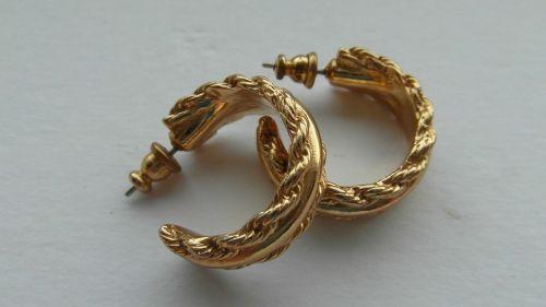 vintage gold earrings vintage gold jewellery earrings