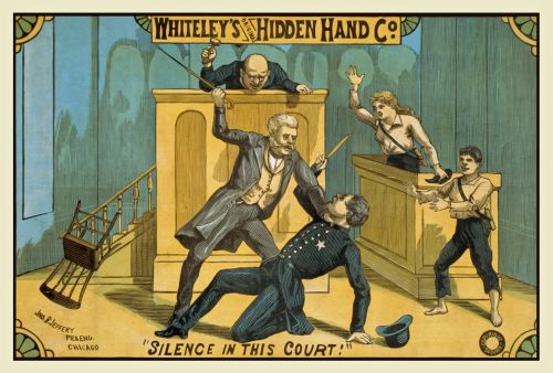 Vintage Hidden Hand Poster