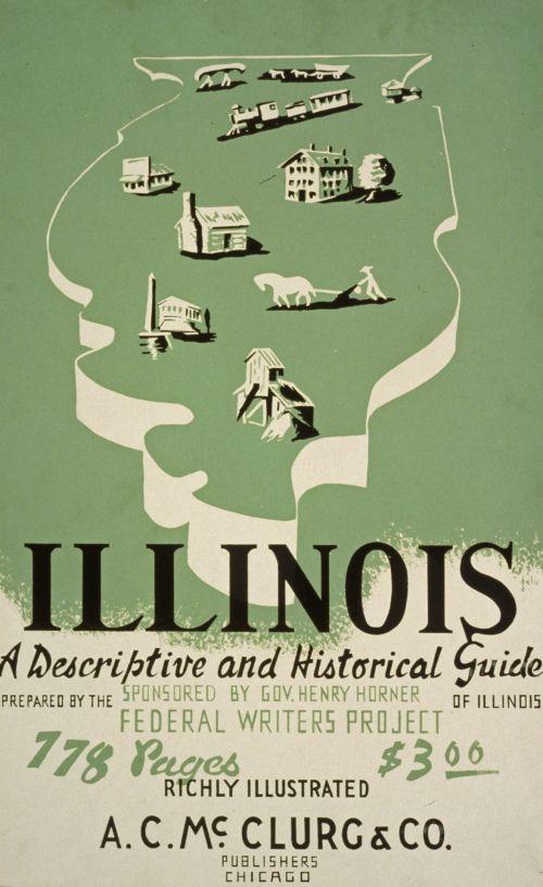 Vintage Historical Guide Poster