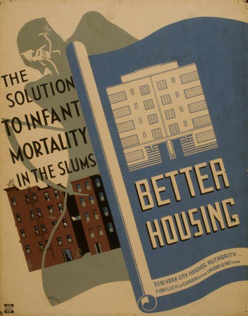 Vintage Housing Poster