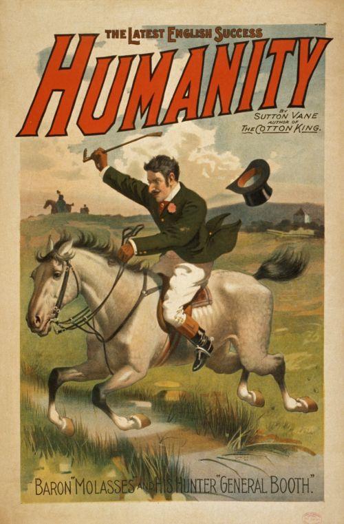 Vintage Humanity Poster