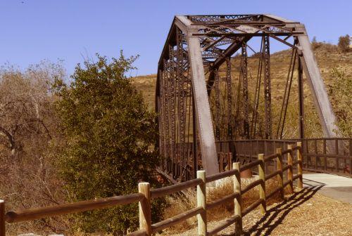 Vintage Iron Horse Bridge