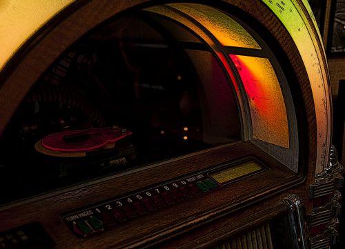 Vintage Juke Box
