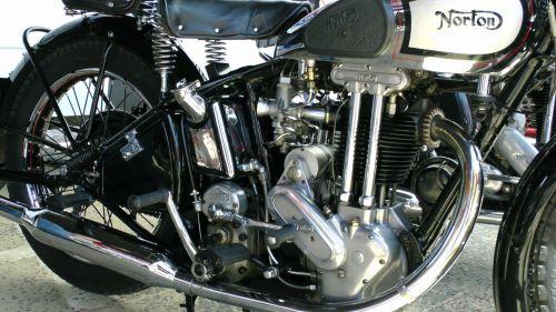Vintage Norton Model 50 Motorcycle