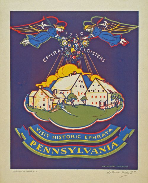Vintage Pennsylvania Travel Poster