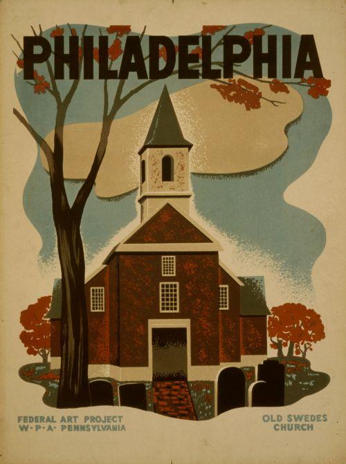 Vintage Philadelphia Poster