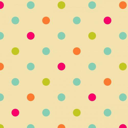 Vintage Polka Dots Background