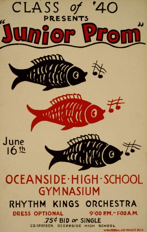 Vintage Prom Poster
