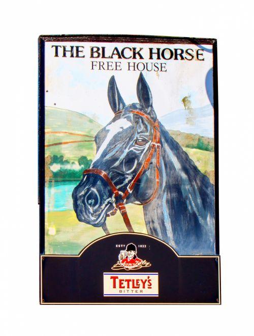 Vintage Pub Sign Horse