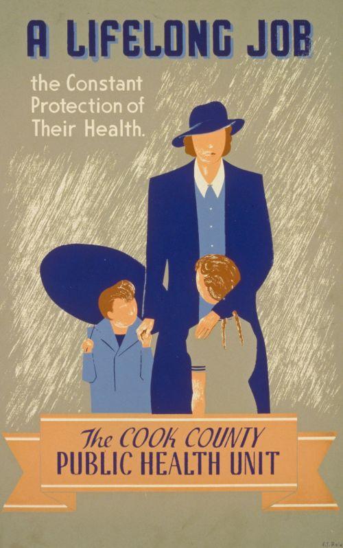 Vintage Public Health Poster
