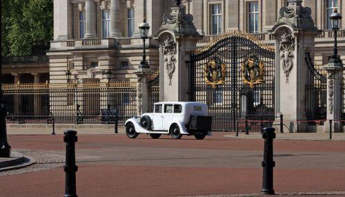 Vintage Rolls Royce Car