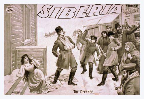 Vintage Siberia Poster
