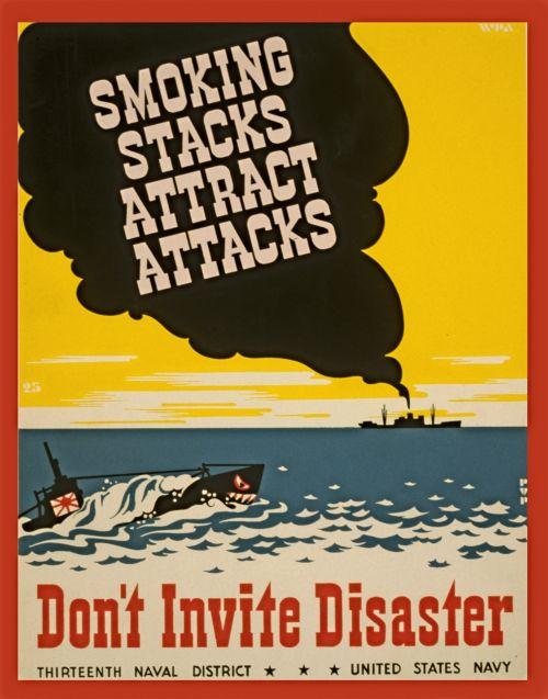 Vintage Smoking Poster